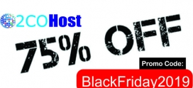 Black Friday Big Discount on Web Hosting 75% OFF